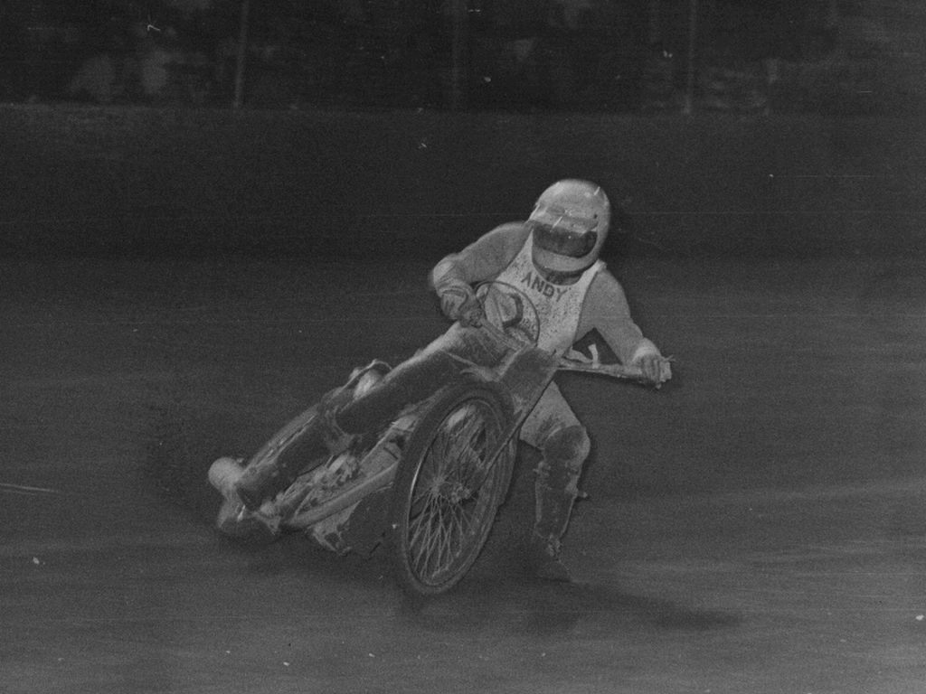 Andy Chalkley at Claremont Speedway 1979