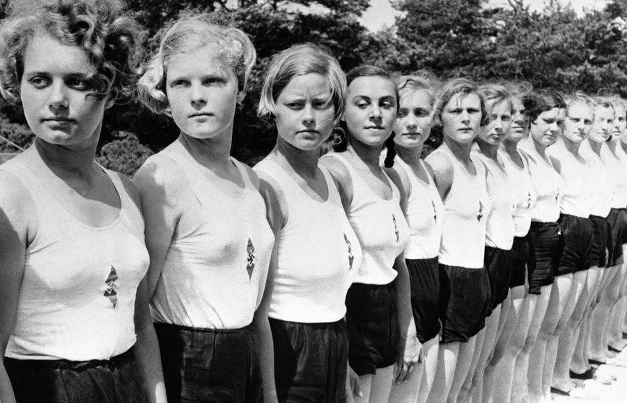 German girls in World War Two